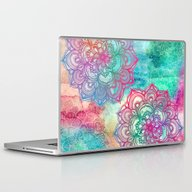 Laptop & iPad Skin featuring Round & Round The Rainbo… by Micklyn