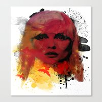 Debbie Harry - Blondie Canvas Print