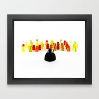 Come On Then! Framed Art Print