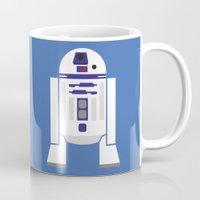 Star Wars Minimalism - R2D2 Mug