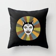 Cat Color Wheel No. 1 Throw Pillow