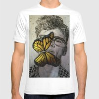 Dave Franco Mens Fitted Tee White SMALL