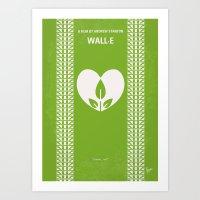 No235 My WALL-E Minimal … Art Print