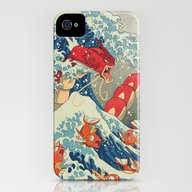 The Great Wave Off Kanto… iPhone (4, 4s) Slim Case