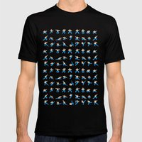 Yie Ar Kung-Fu Mens Fitted Tee Black SMALL