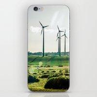Wind generators iPhone & iPod Skin