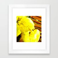 Amarillo Animal Framed Art Print