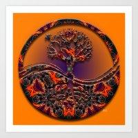Tree Of Designs Art Print