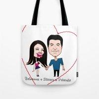 Rebecca Black And Simon … Tote Bag