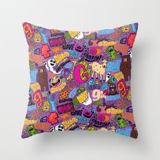 G Pattern Throw Pillow