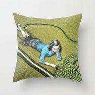 Compulsive Artist Throw Pillow