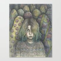 Self as a Human Being  Canvas Print