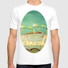 Circus II Mens Fitted Tee SMALL White