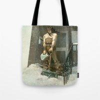 Winter Warrior Tote Bag
