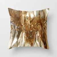 Foil1 Throw Pillow