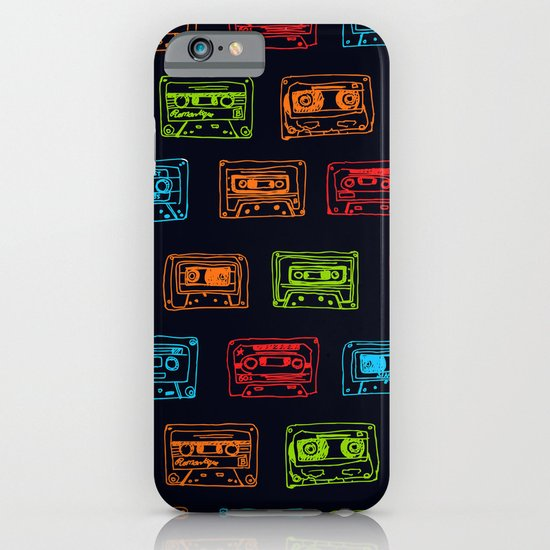 Our Mixtape - Navy iPhone & iPod Case