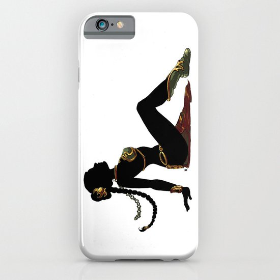Slave Leia Mudflap iPhone & iPod Case