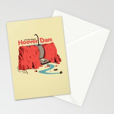 The Hoover Dam Stationery Cards