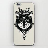 King of Wolf iPhone & iPod Skin