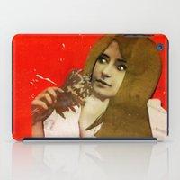 Victorian Orange iPad Case