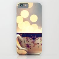 Blue And Gold Steaming C… iPhone 6 Slim Case