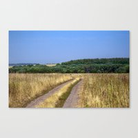 Country Road 14 Canvas Print