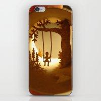 iPhone & iPod Skin featuring Swing (Balançoire) by Anastassia Elias