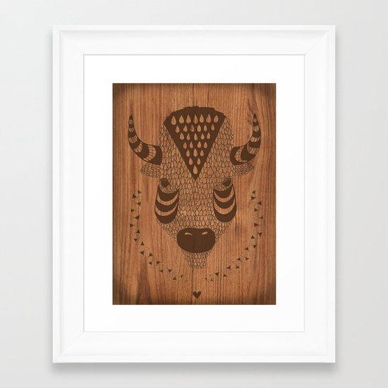 Buffalo No.2 Framed Art Print