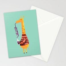 Crazy Straw Stationery Cards