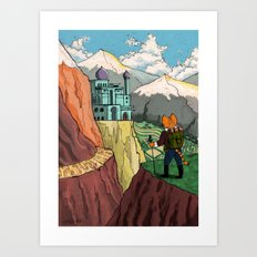 The Lost Horizon Art Print