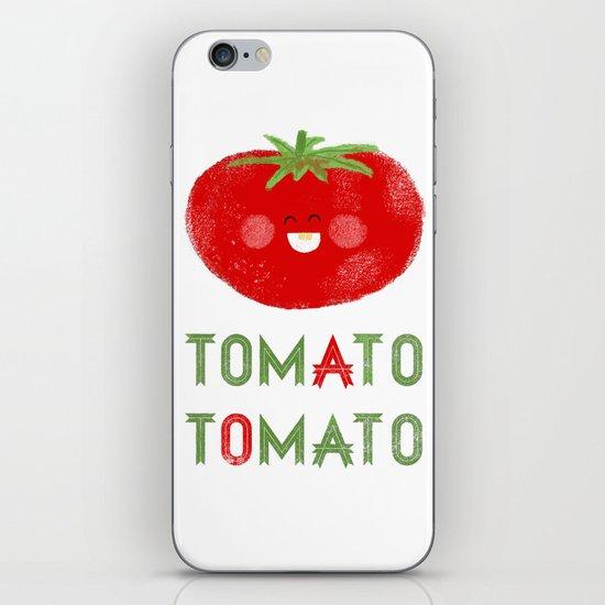 Tomato-Tomato iPhone & iPod Skin