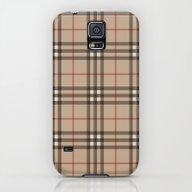 Burberry Plaid - Like De… Galaxy S5 Slim Case