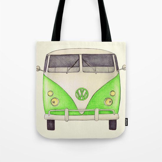 VW Type 2 Tote Bag