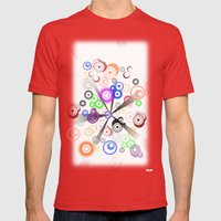 PUNTO Mens Fitted Tee Red SMALL