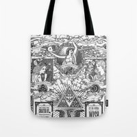 Legend Of Zelda - The Th… Tote Bag