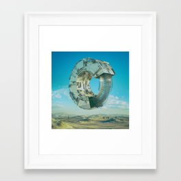 Framed Art Print - REBALANCE (02.08.16) - beeple