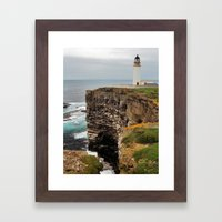 Noup Head Framed Art Print