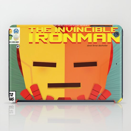 ironman fan art iPad Case