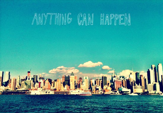 Anything Can Happen Canvas Print