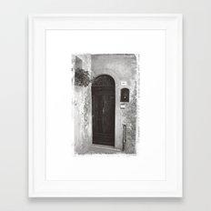 Rome Door 2 Framed Art Print