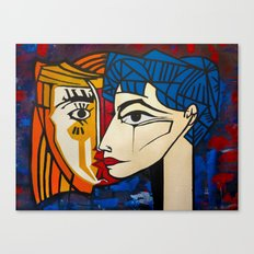 Jacqueline Canvas Print