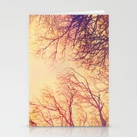 High up in the trees Stationery Cards