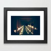 Smoke n' Mirrors Framed Art Print