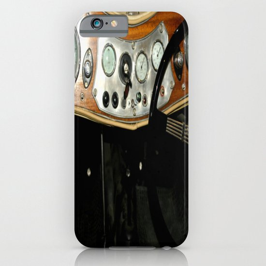 "1948 MG ""TC"" Sports Car Dashboard iPhone & iPod Case"