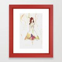 Fashion Illustration 2  Framed Art Print