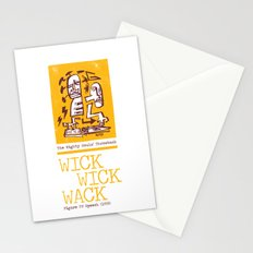 The Mighty Souls' Throwback: WICK WICK WACK - Figure UV Speech (1993) Stationery Cards