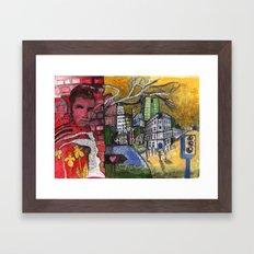 King Street Framed Art Print