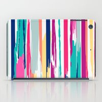 Painted Stripe 2  iPad Case