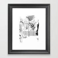 The Long Ride Framed Art Print