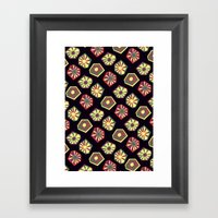 Bursting And Blooming Framed Art Print